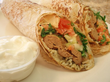 Koubideh Wrap (ground sirloin)