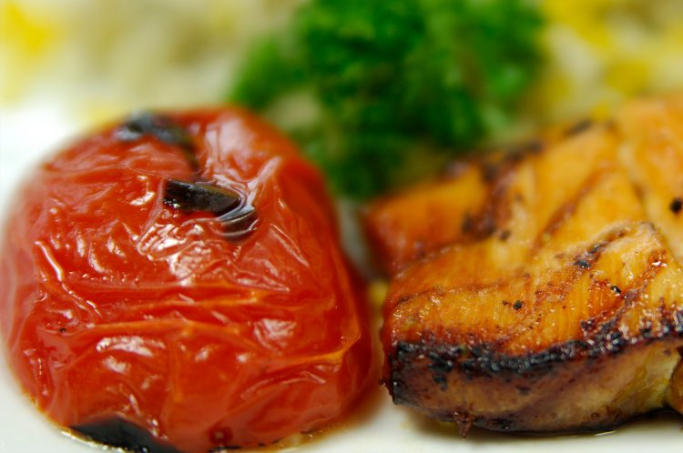Charbroiled Tomatoes